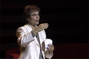 Erna Paris speaking at IdeaCity 2010