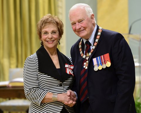 Erna Paris and David Johnston